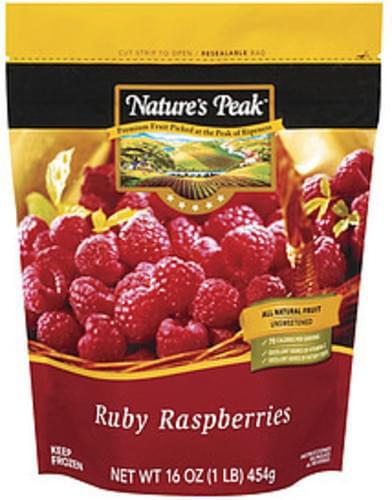 Nature's Peak Ruby Raspberries Fruit - 16 oz