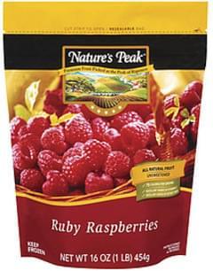 Nature's Peak Fruit Ruby Raspberries