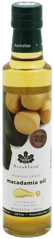 Brookfarm Premium Grade Macadamia Oil - 8.5 oz