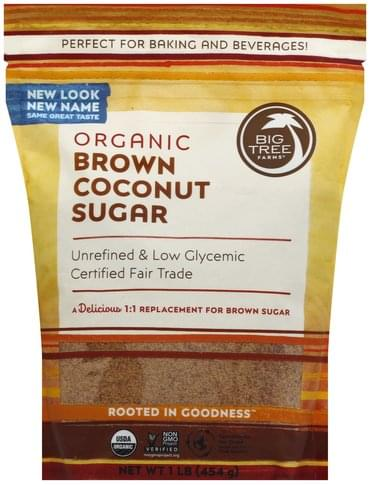 Big Tree Farms Brown, Organic Coconut Sugar - 1 lb