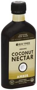 Big Tree Farms Coconut Nectar Organic, Amber