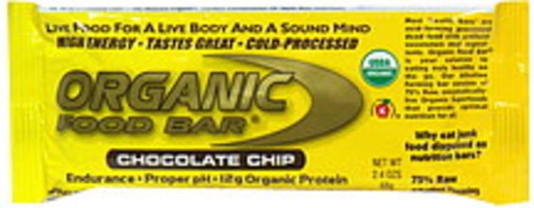 Organic Food Bar Food Bar Chocolate Chip
