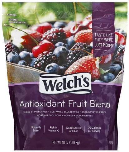 Welchs Antioxidant Fruit Blend - 48 oz, Nutrition Information | Innit