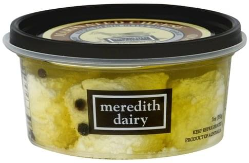 Meredith Dairy Marinated, Sheep & Goat Blend Cheese - 7 oz