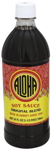 Aloha Original Blend Soy Sauce - 24 oz
