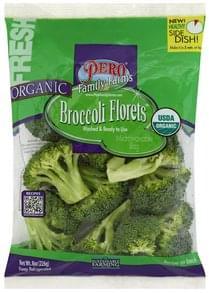 Pero Broccoli Organic, Florets