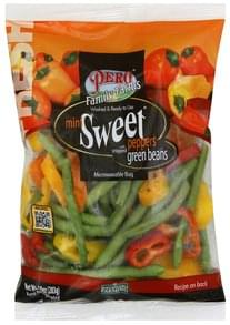 Pero Sweet Peppers Mini, with Snipped Green Beans