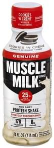 Muscle Milk Protein Shake Non Dairy, Cookies 'N Creme