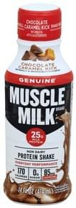 Muscle Milk Non Dairy Protein Shake Chocolate Caramel Kick