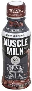 Muscle Milk Protein Shake Non Dairy, Knockout Chocolate