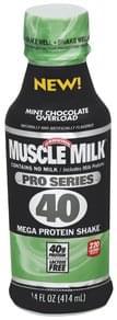 Muscle Milk Mega Protein Shake Mint Chocolate Overload