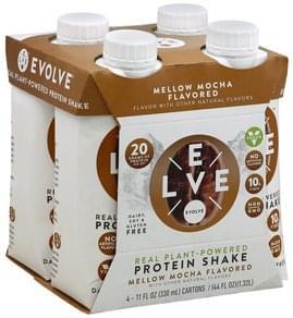 Evolve Protein Shake Mellow Mocha Flavored