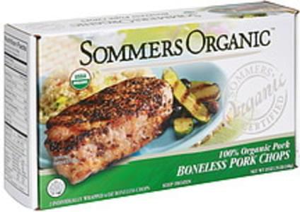 Sommers Organic Boneless Pork Chops 100% Organic Pork