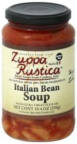 Zuppa Rustica Italian Bean Soup with Extra Virgin Olive Oil