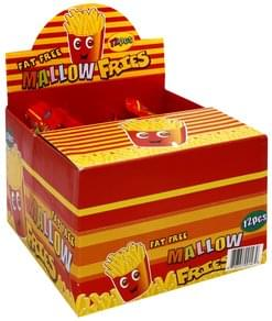 Candymallow Mallow Fries Fruit Flavored, Banana