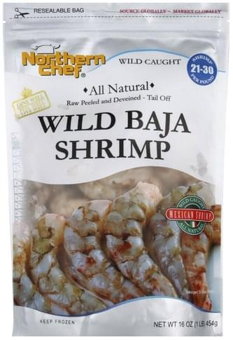 Northern Chef Mexican, Wild Baja Shrimp - 16 oz