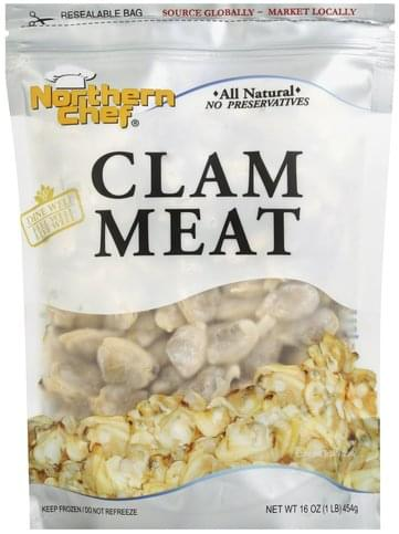 Northern Chef Clam Meat - 16 oz