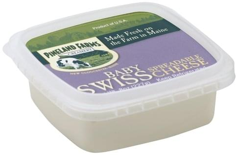 Pineland Farms Baby Swiss Spreadable Cheese - 8 oz