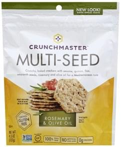 Crunchmaster Crackers Multi-Seed, Rosemary & Olive Oil