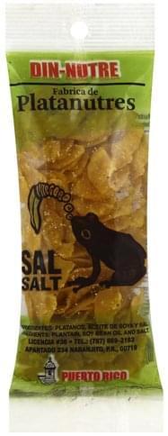Din Nutre Salt Platanutres - 1 ea