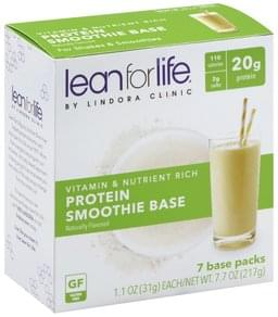 Lean For Life Smoothie Base Protein