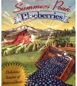 Summers Peak Blueberries