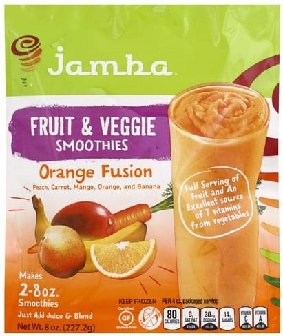 Jamba Juice Fruit & Veggie, Orange
