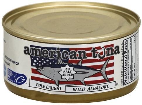 American Tuna Wild Albacore - 6 oz