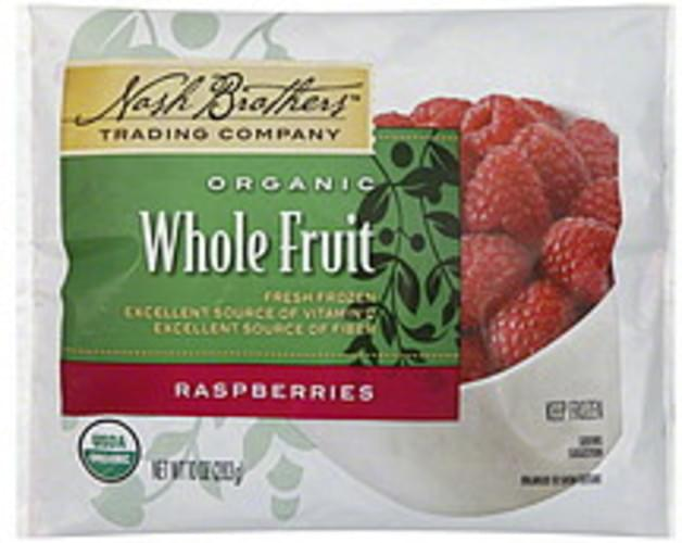 Nash Brothers Trading Company Whole Fruit Raspberries - 10 oz