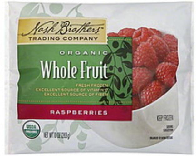Nash Brothers Trading Company Whole Fruit Raspberries - 10 oz