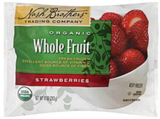 Nash Brothers Trading Company Whole Fruit Strawberries - 10 oz