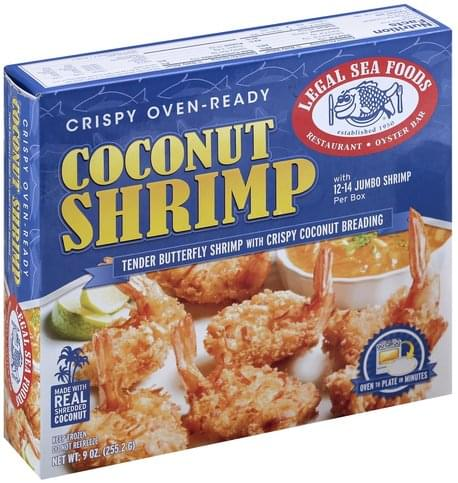 Legal Sea Foods Coconut Shrimp - 9 oz