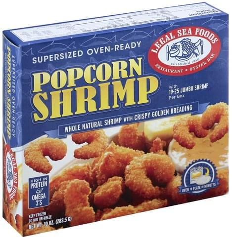 Legal Sea Foods Popcorn Shrimp - 10 oz