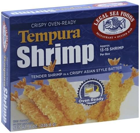 Legal Sea Foods Tempura Shrimp - 8 oz