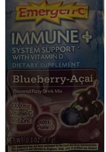 Emergen-C Blueberry Acai Drink Mix