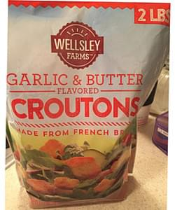 Wellesley Farms Croutons Garlic & Butter Flavored