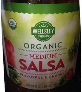 Wellsley Farms Organic Medium Salsa