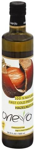 Oneva Hazelnut Oil - 16.9 oz