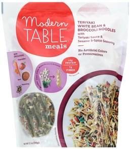 Modern Table White Beans & Broccoli Noodles Teriyaki