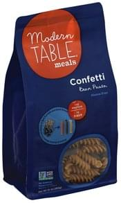 Modern Table Bean Pasta Confetti