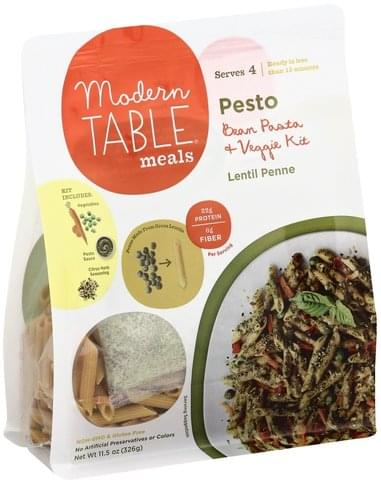 Modern Table Pesto Bean Pasta & Veggie Kit - 11.5 oz