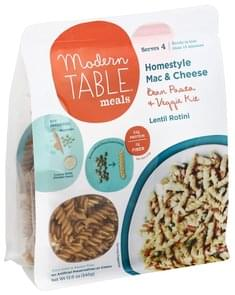Modern Table Mac & Cheese Homestyle, Lentil Rotini