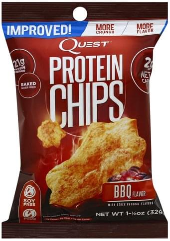 Quest BBQ Flavor Protein Chips - 1.125 oz