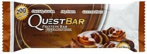 Quest Bar Protein Bar Cinnamon Roll Flavor
