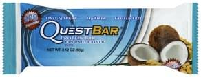 Quest Bar Protein Bar Coconut Cashew Flavor