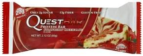 Quest Bar Protein Bar Strawberry Cheesecake Flavor