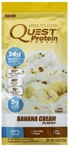 Quest Protein Powder Banana Cream Flavor