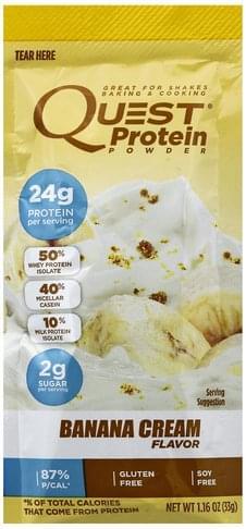 Quest Banana Cream Flavor Protein Powder - 1.16 oz