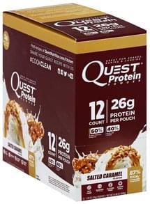 Quest Protein Powder Salted Caramel Flavor