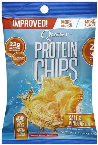 Quest Protein, Salt & Vinegar Chips - 1.125 oz